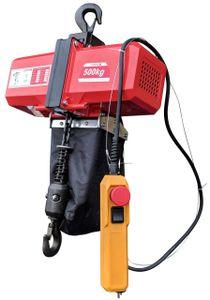 Elektrischer Kettenzug BDH-500 Kg Elektrokettenzug Kettenwinde Seilzug 230 V