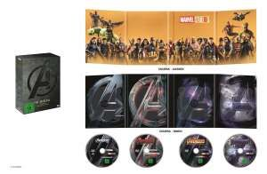 AVENGERS:  MOVIE COLLECTION (DVD) 4Disc The Avengers 4-Movie DVD Collection - Walt Disney  - (DVD Video / Action)