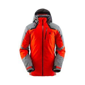 Spyder Herren Skijacke Winterjacke wasserdicht PrimaLoft® Leader Jacket GTX  rot, Größe:XXL