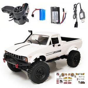 WPL C24 1:16 4WD 2.4G Rock Buggy Crawler Offroad RC Car Fernbedienung DIY Bestes Weihnachtsgeschenk