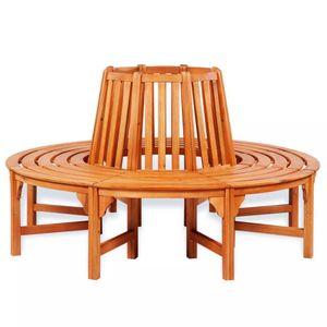 dereoir Baumbank Ø 160 cm Holz