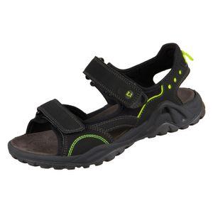 Lurchi Manni Jungen Sandale in Schwarz, Größe 38