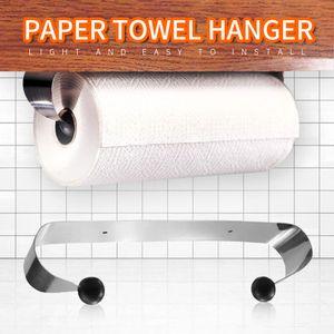 Papierhandtuchhalter unter Schrank Wandhalterung Edelstahl Rack Küche