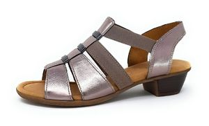 Gabor Luxor  Damenschuhe Sandalen Bequem Sandale Beige Freizeit, Schuhgröße:EUR 39 | UK 6