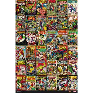 Classic Retro Comic Cover Collection Maxi Poster Marvel