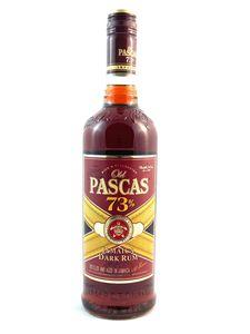 Old Pascas 73% Dark Rum 0,7l, alc. 73 Vol.-%, Rum Jamaica