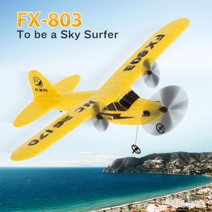 FX-803 2,4G 2CH 340mm Spannweite Fernbedienung Segelflugzeug Fixed Wing RC Flugzeug Flugzeug RTF