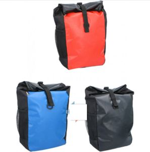 Fahrradtasche Gepäckträger Fahrrad Gepäckträgertasche Wasserdicht Schultertasche LKW-Plane