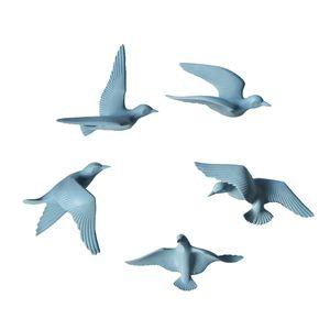 5 Stücke 3D Hängende Fliegende Möwe