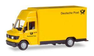 HERPA 094207, Vormontiert, Liefer-LKW-Modell, 1:87, Mercedes-benz 207D, Männlich, 30 g