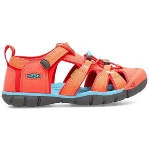 KEEN Seacamp II CNX Mädchen Sandale in Rot, Größe 36