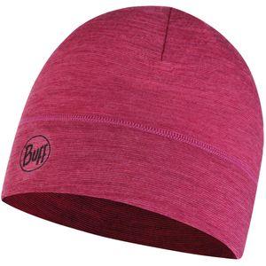 Buff  Lightweight Merino Wool Hat Multi Stripes Purple Multi Stripes One Size