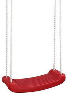 IZZY SPORT, Brettschaukel aus hochwertigem Kunststoff, rot; 73200