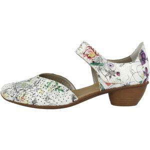 rieker Damen Sandale Weiss Schuhe, Größe:39