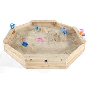 Plum Kinder gigantischer Sandkasten achteckig Sandspielzeug, 25058
