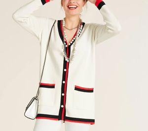 heine Jacke Cardigan moderne Damen Long-Strick-Jacke mit Schmuckknöpfen Weiß, Größe:40/42