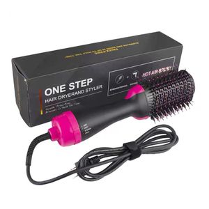 4 in 1 Haartrockner Warmluftbürste Negativ-Ionen Heißluftkamm Föhnbürst Heißluftkamm Multifunktions Hair Dryer