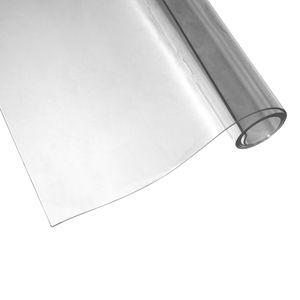 Aylo PVC Tischfolie 2mm Transparent Tischdecke Tischschutz Tischmatte  glasklar, Länge:110 cm, Breite:60 cm
