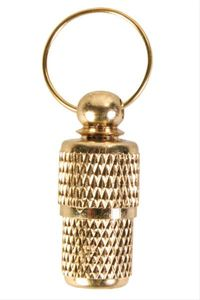Adressanhänger Metall TRIXIE goldfarben