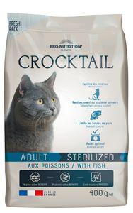 Pro Nutrition - Crocktail ADULT STERILIZED mit Fisch - 400 gr