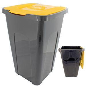 Abfalltonne Recycling, 50 Liter, 56 x 36 x 36cm,