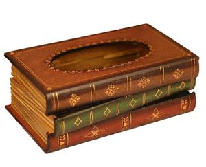 Kosmetiktücherbox aus Holz 10,2 cm H x 25,4 cm L x 14 cm W Taschentuchspender für handelsübliche Taschentücher aus natur Holz