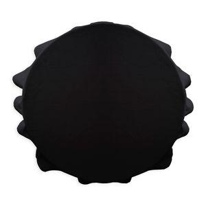 Runde Tischdecke, Ø 180 cm, schwarz, TODAY - Today