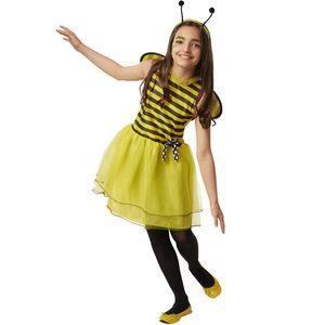 dressforfun Kinderkostüm Kleine Biene Caroline - 140 (9-10 Jahre)