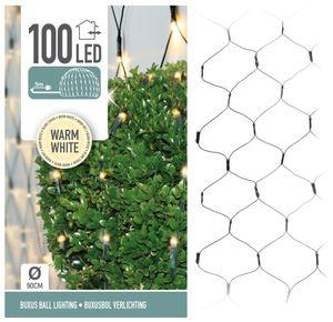 Buchsbaum Beleuchtung Ø 90cm - Lichternetz 100 LED