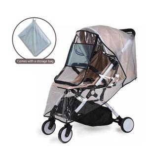 Universelle Regenhülle für Kinderwagen, Regenhülle für Buggy, bequemes Zugangsfenster, gute Luftzirkulation