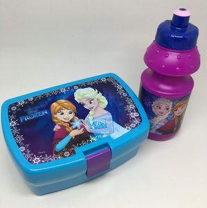 Disney Frozen / Eiskönigin - Lunch Set Trinkflasche & Brotdose