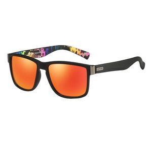 Anti-Auswirkungen Polarisierte Sport Sonnenbrille Männer Fahren Sonnenbrille Radfahren Laufen Angeln Schutzbrillen Unzerbrechlich Rahmen Bike Fahrrad Farbe Orange