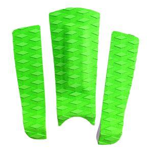 3 Stück Surfbrett Traction Pad Farbe Grün