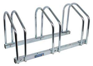 Fahrradständer für 3 Fahrräder Räder Fahrrad Ständer Rad Aufstellständer Bike