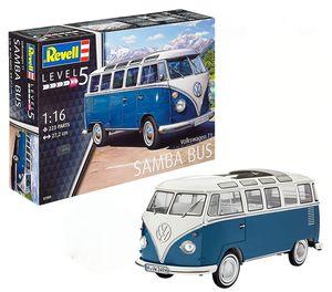 Revell Volkswagen T1 Samba - Montagesatz - Busmodell - 1:16 - Volkswagen T1 Samba - 223 Stück(e) - B
