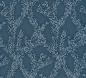 A.S. Création Vliestapete Four Seasons Tapete metallic blau 10,05 m x 0,53 m 358985 35898-5