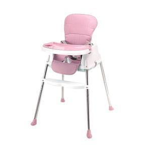 wuuhoo Baby-Hochstuhl Multi-funktional rutschfest und waschbar mit 5-Punkt-Gurt und abnehmbaren Sitzkissen