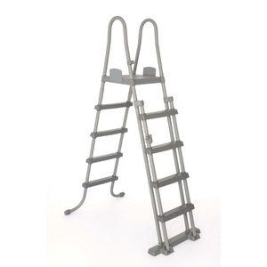 Bestway 4-Stufen-Sicherheitsleiter Flowclear 132 cm 58332