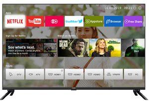 CHiQ Smart TV, Triple Tuner, HDR, HD LED TV, 80cm (32 Zoll), L32H7LX