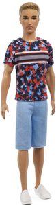 Barbie Ken Fashionistas Puppe im Printshirt