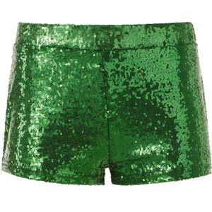 dressforfun Pailletten-Shorts - grün, S