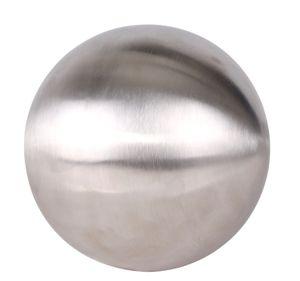 Edelstahl Dekokugel matt gebürstet - Größe: 15 cm