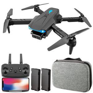 S89 RC Drohne mit Kamera 4K Wifi FPV Drohne Mini Klapp Quadcopter Spielzeug fš¹r Kinder mit Schwerkraftsensor Steuerung Headless Mode Geste Foto Video Funktion