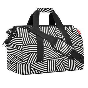 reisenthel allrounder L zebra 30 l Reisetasche Schultertasche - Zebra