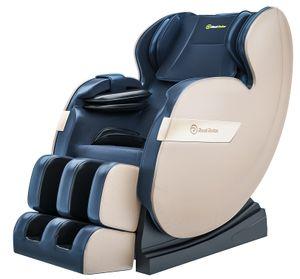 ASUKALE Ganzkörper Zero Gravity  Massagesessel mit Fußmassage, HiFi-Music, Wärmefunktion, Automatikprogramme,Blau