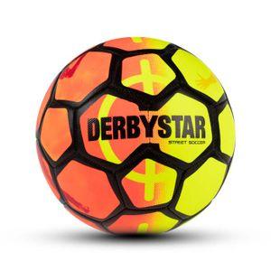 DERBYSTAR Street Soccer Fußball 2020 orange/gelb/schwarz 5