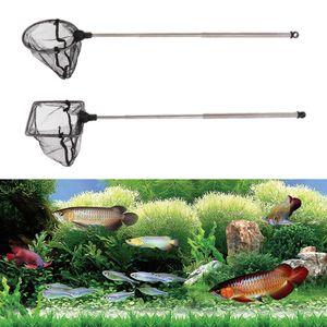 2 Stück Aquarium Fischnetz Mit Ausziehbarem Langen Griff Für Aquarium Kreis