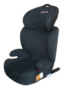 X-Adventure Junior Autositz/Kindersitz/ 15-36 Kilo/Gruppe 2 + 3 Isofix schwarz