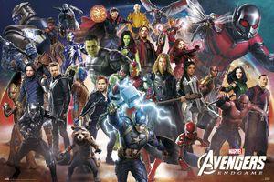 Avengers: Endgame Poster Line Up XXL 99 x 140 cm