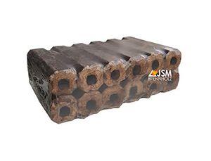 JSM-Brennholz Eichenholzbriketts Pini&Kay - 2 Pakete, 12 Briketts je Paket Holzbriketts